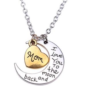 Jewelry - 🎁 Mom I Love You to The Moon & Back Necklace